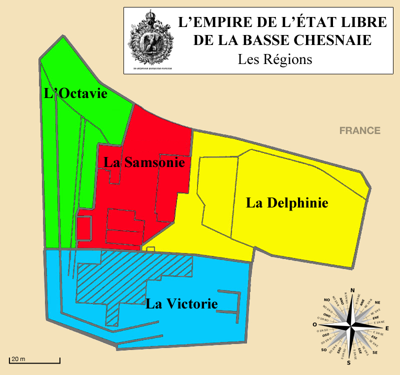Carte de l'Empire